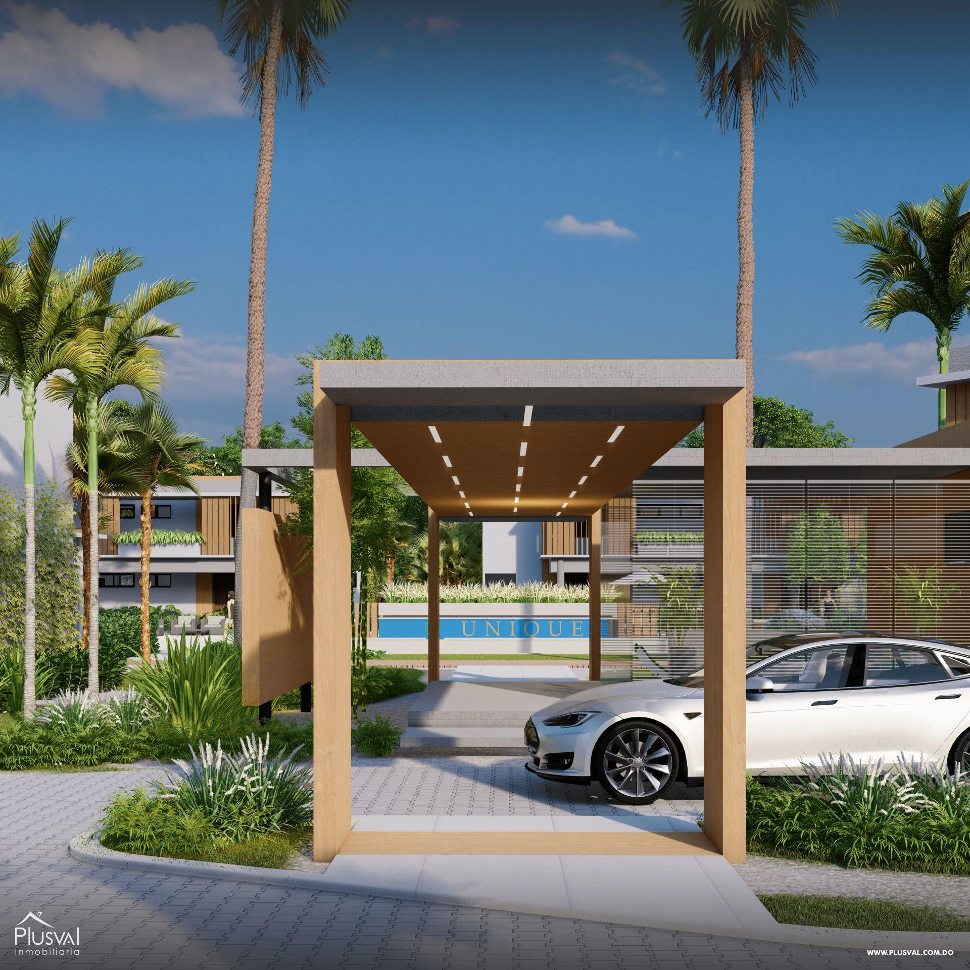 Apartamentos de 1 y 2 Habitaciones en Venta, en la zona de Punta Cana 181169