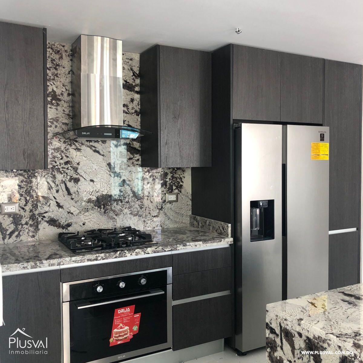 Apartamento en alquiler con linea blanca en Piantini 184902