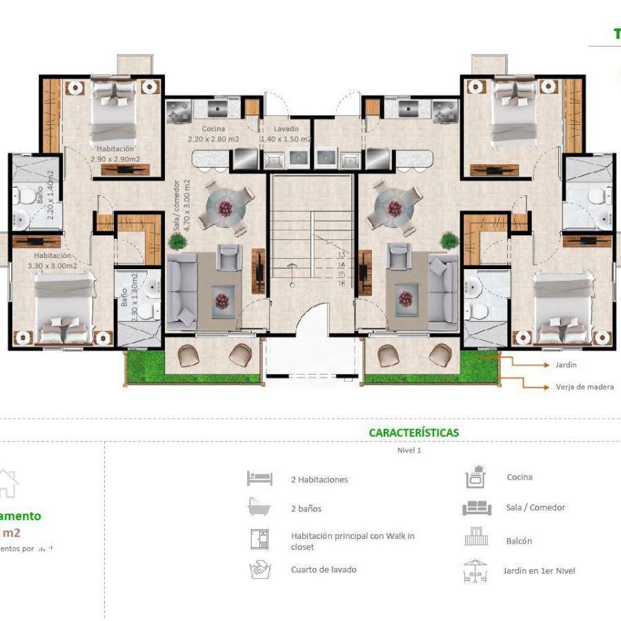 Apartamentos en la Jacobo Majluta con excelente área social 173632