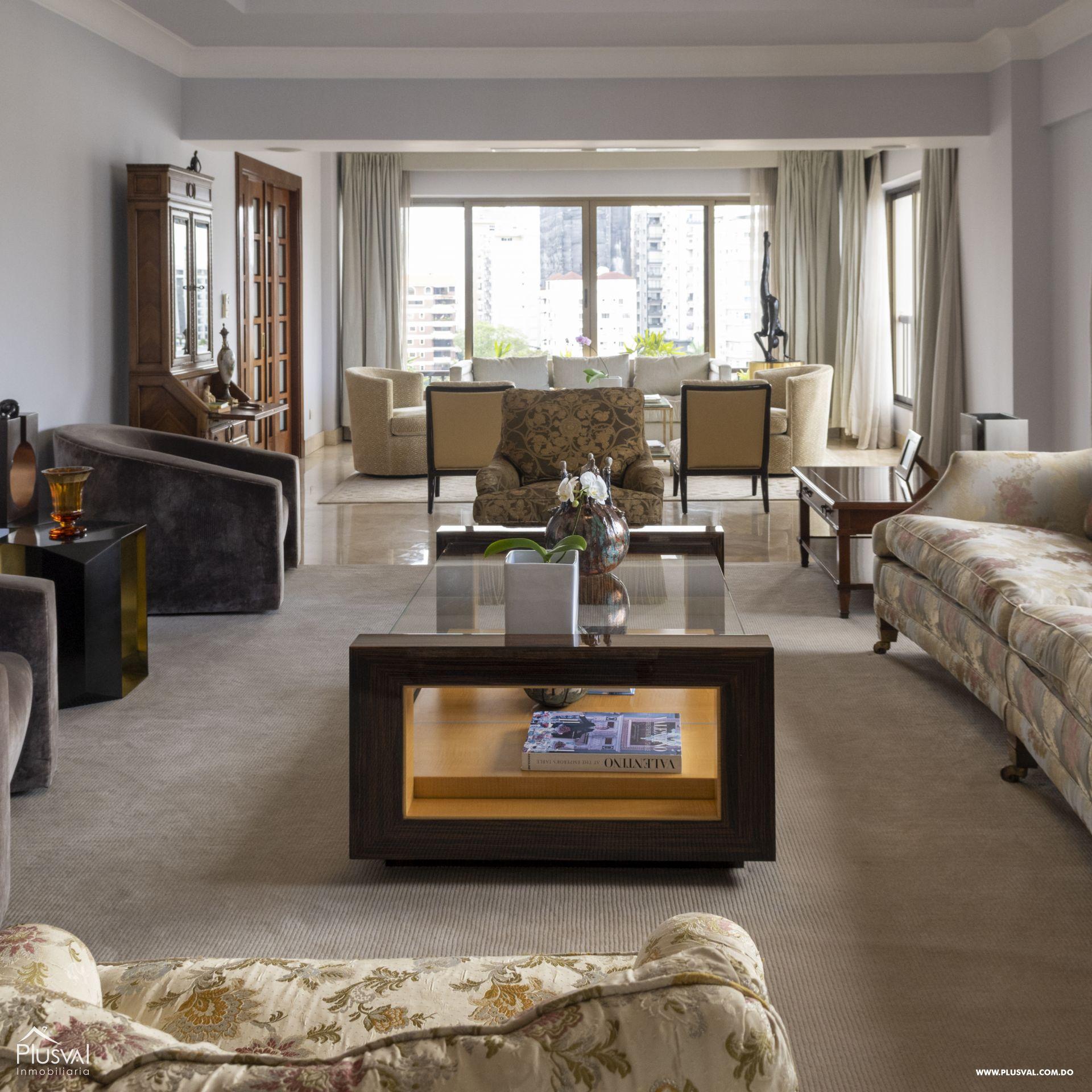 Penthouse en Venta en Naco con 8 parqueos 155357
