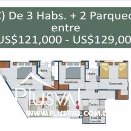 Céntrico y moderno proyecto de apartamentos en venta, La Julia 169869