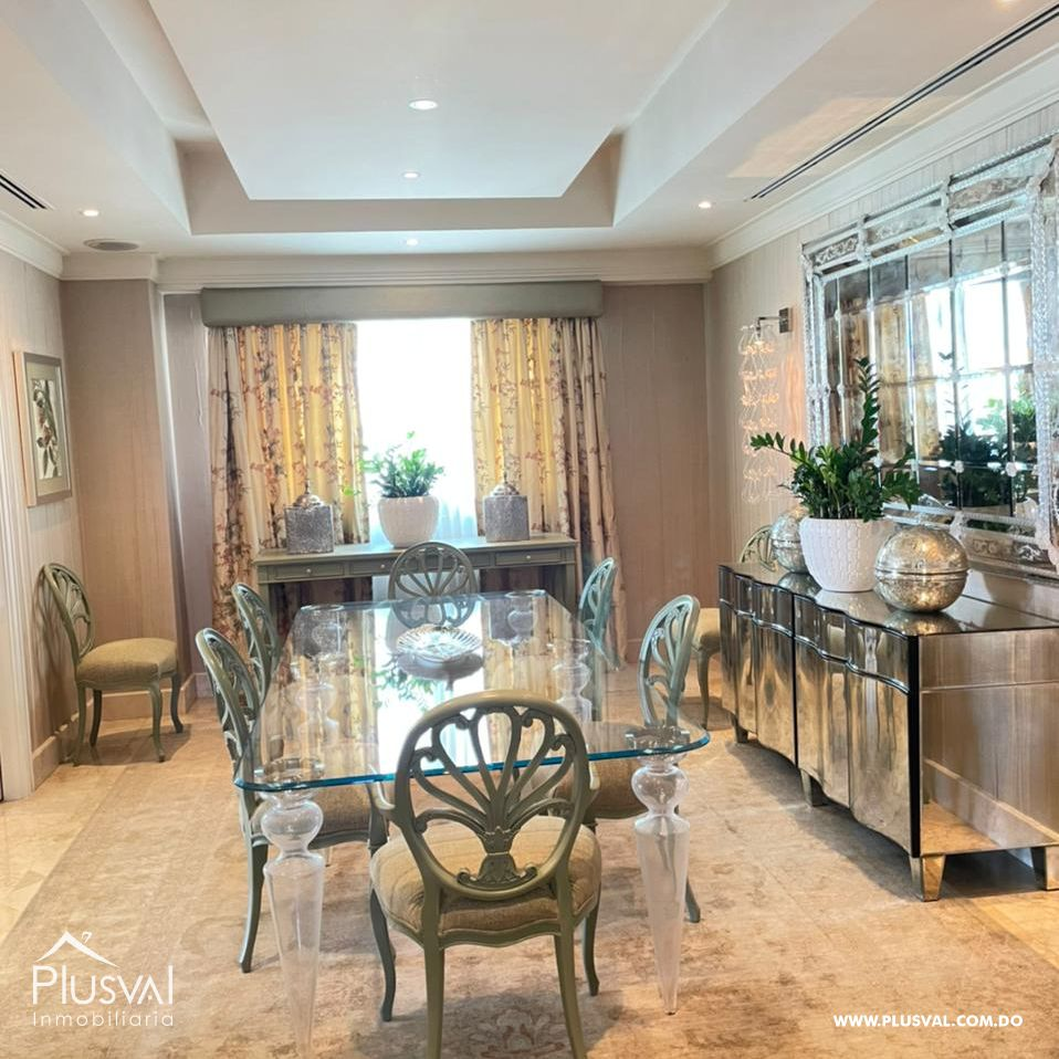 Apartamento en alquiler en Piantini amueblado 164161