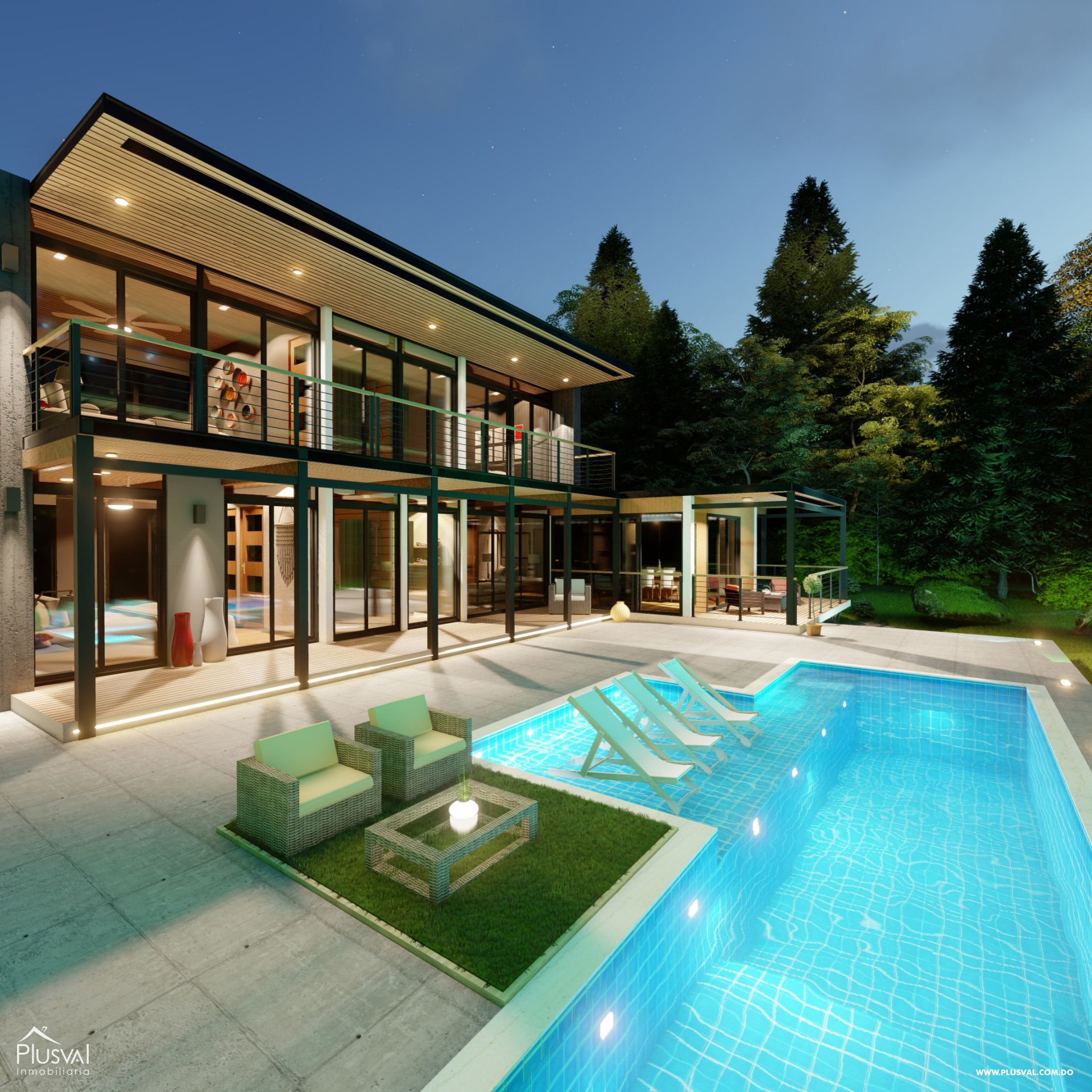 Villas en Jarabacoa con excelente diseño e inmejorable ubicación