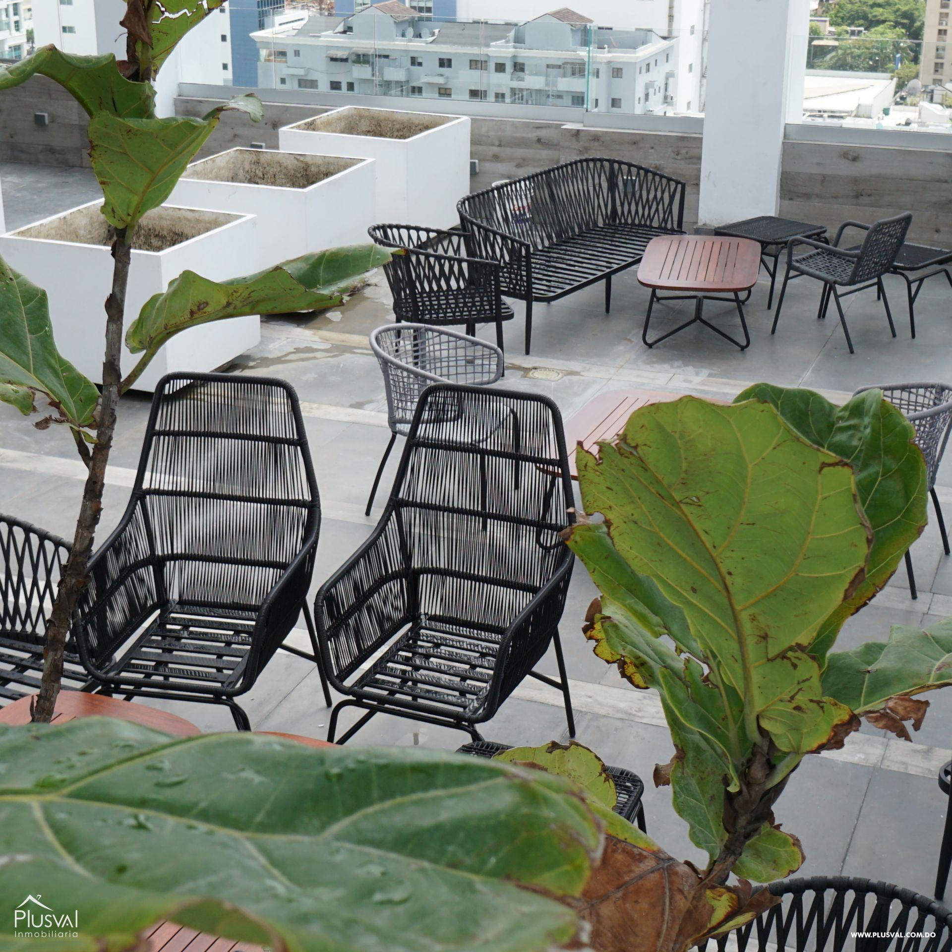 Apartamento en alquiler con linea blanca en Piantini 183106