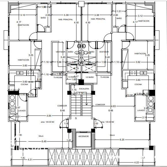 Apartamentos en Venta en Los Restauradores 179604