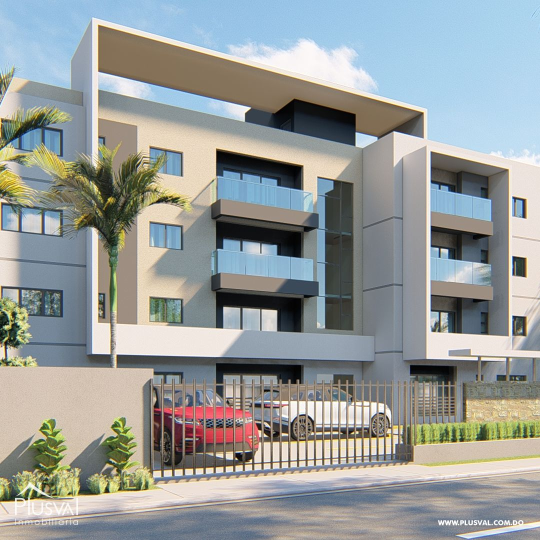 Moderno Edificio de Apartamento 161512