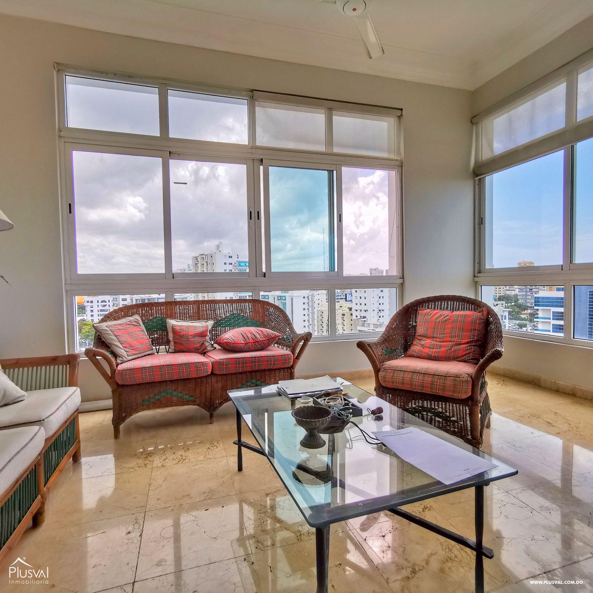 Apartamento con Vista al Mar y Area Social en Naco