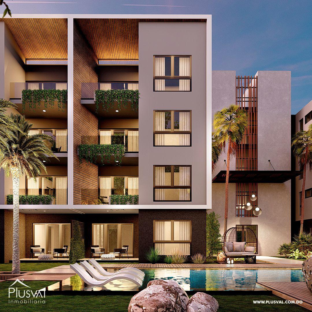 Apartamentos en Venta, con moderno estilo, en Las Canas, Cap Cana 175542