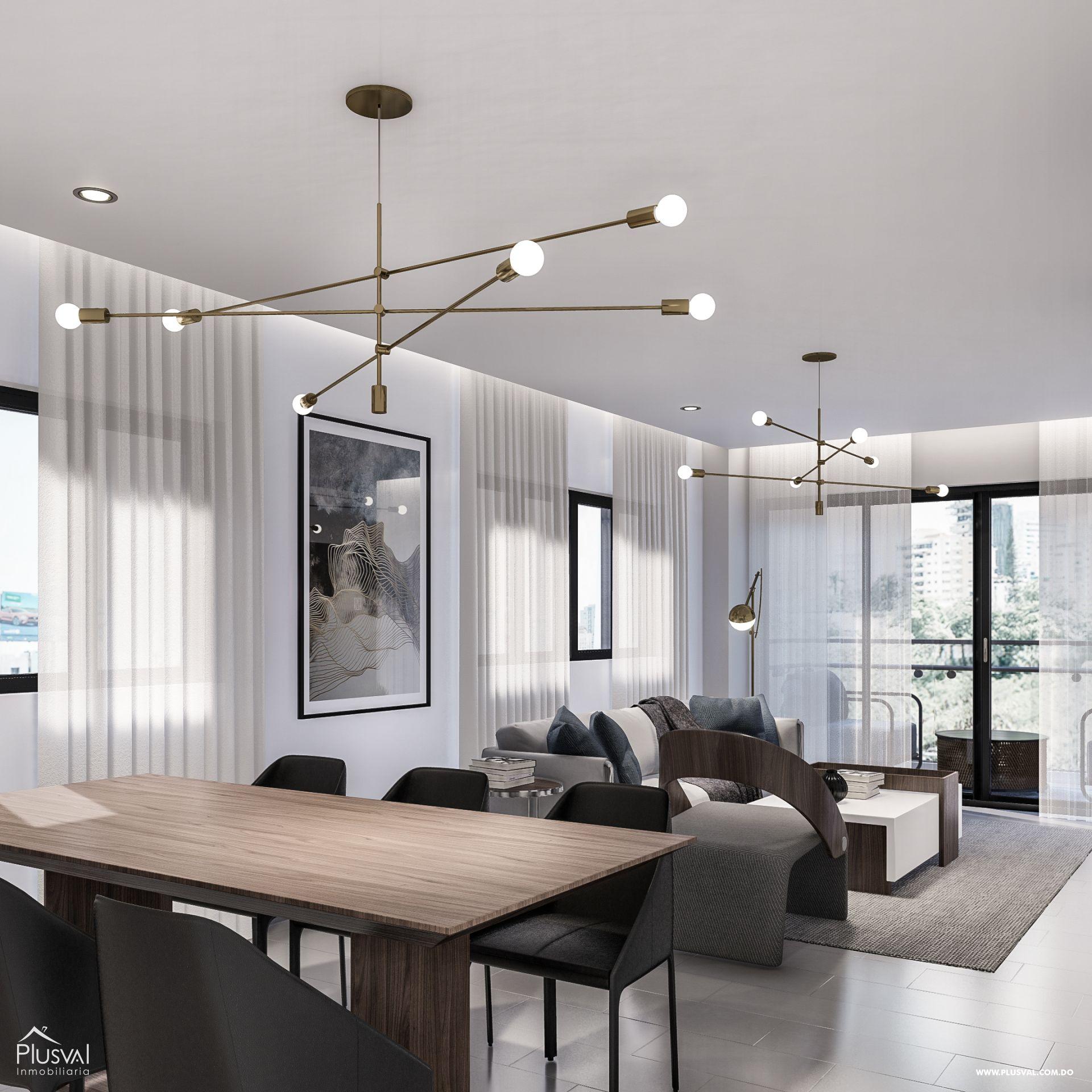 Apartamentos de 2 y 3 habitaciones con todas las amenidades en Los Restauradores 159093