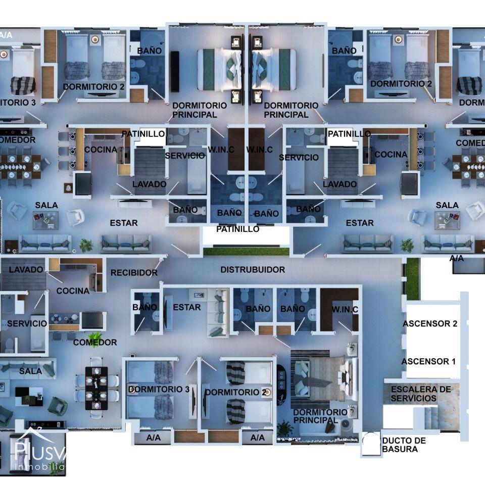 Apartamentos Nuevo Alma Rosa I 168829
