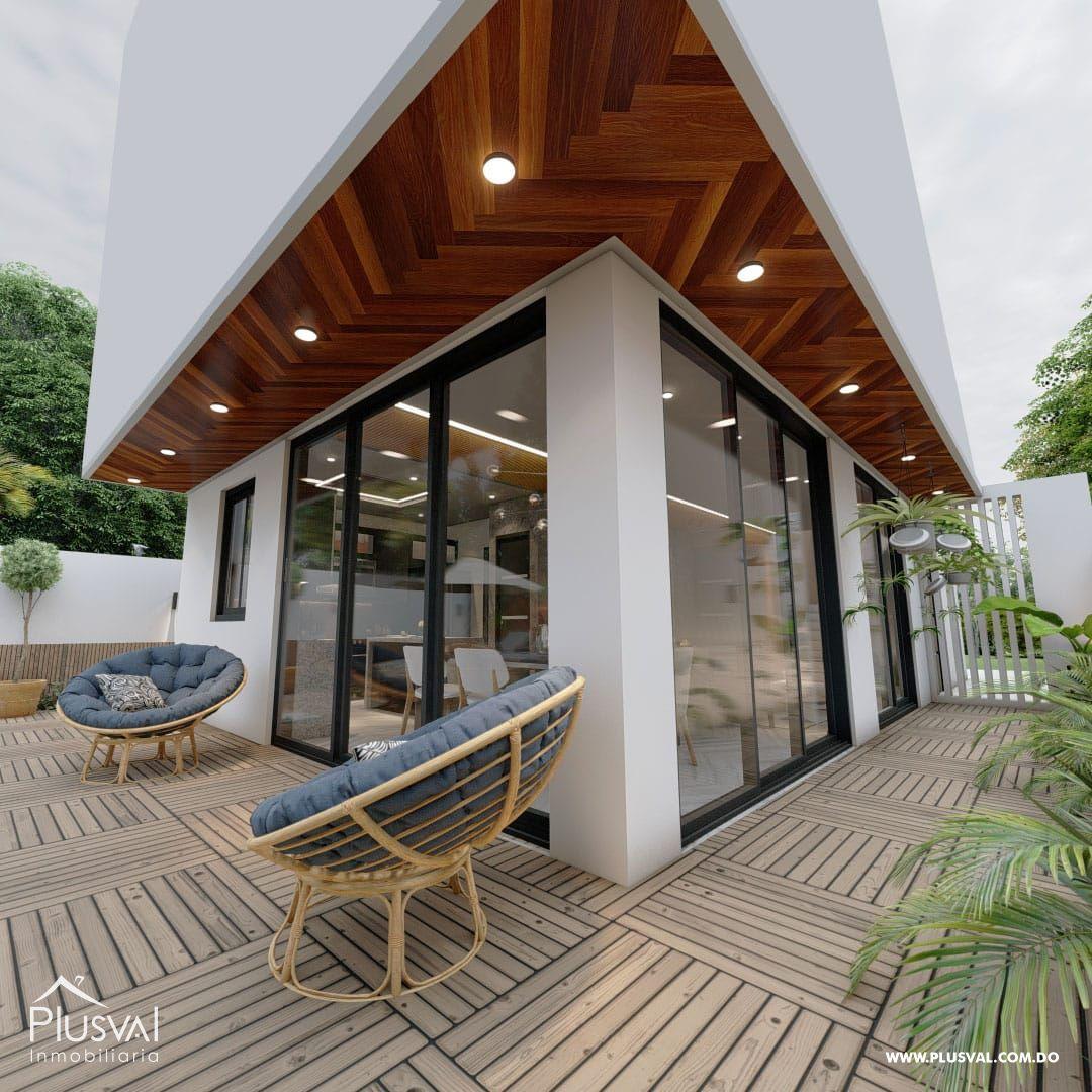 Exclusivas y modernas casas de 2 niveles en Arroyo Hondo III. 167192