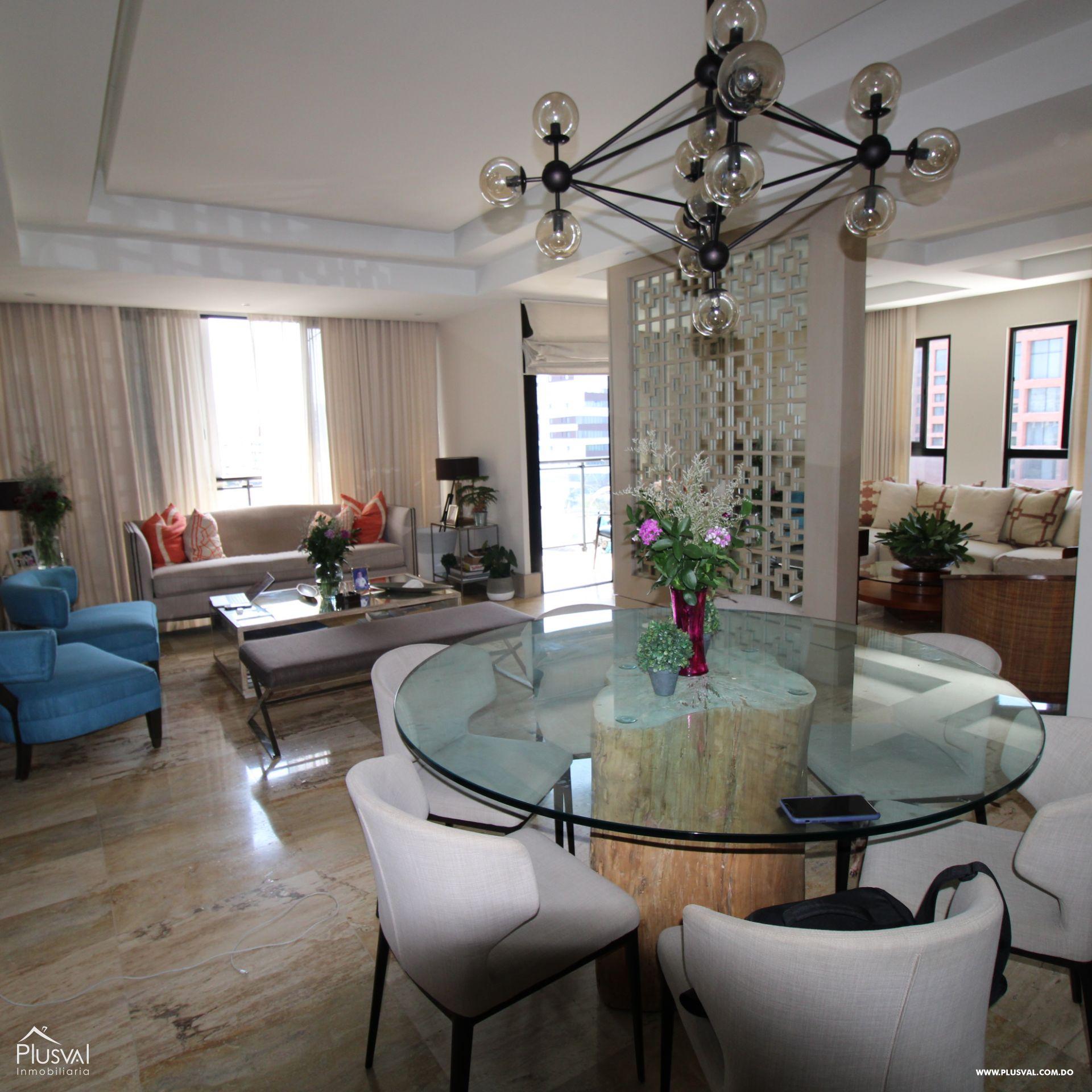 Apartamento amueblado en  la mejor zona de Piantini