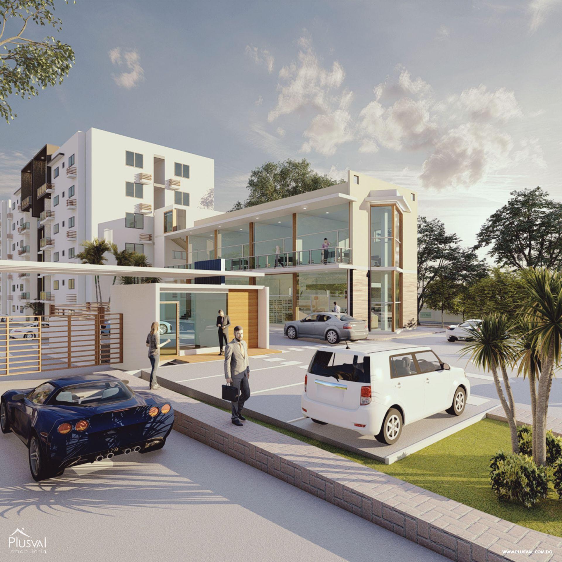 Moderno Proyecto de Apartamentos en Santiago 166986