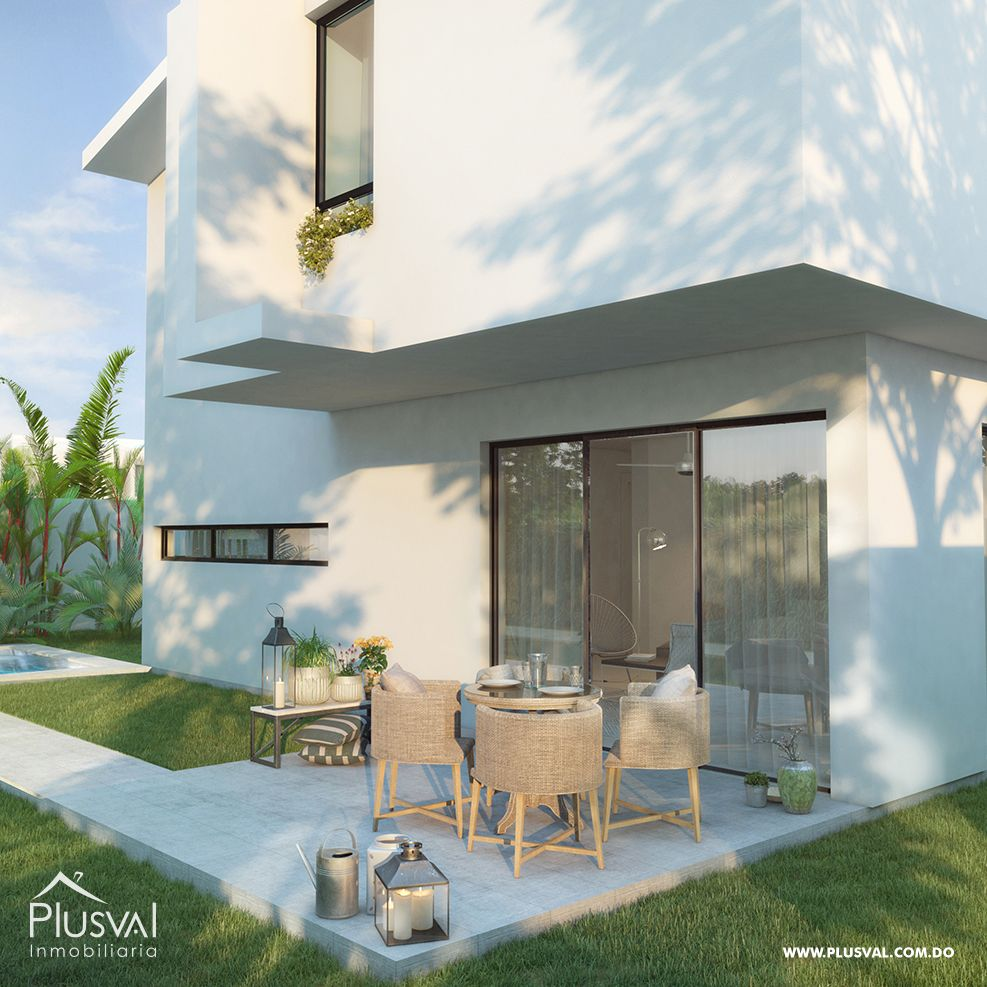 Villas de 3 habitaciones, con Playa artificial y campo de golf nocturno. 167833