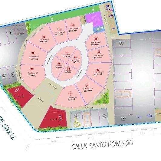 Plaza Comercial Frontal cerca del Ney Arias Lora 176678