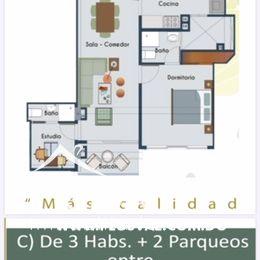 Céntrico y moderno proyecto de apartamentos en venta, La Julia 169873