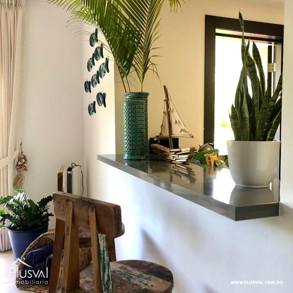 Apartamento de 2 habs amueblado en Venta, en Puntacana Village con piscina 167258