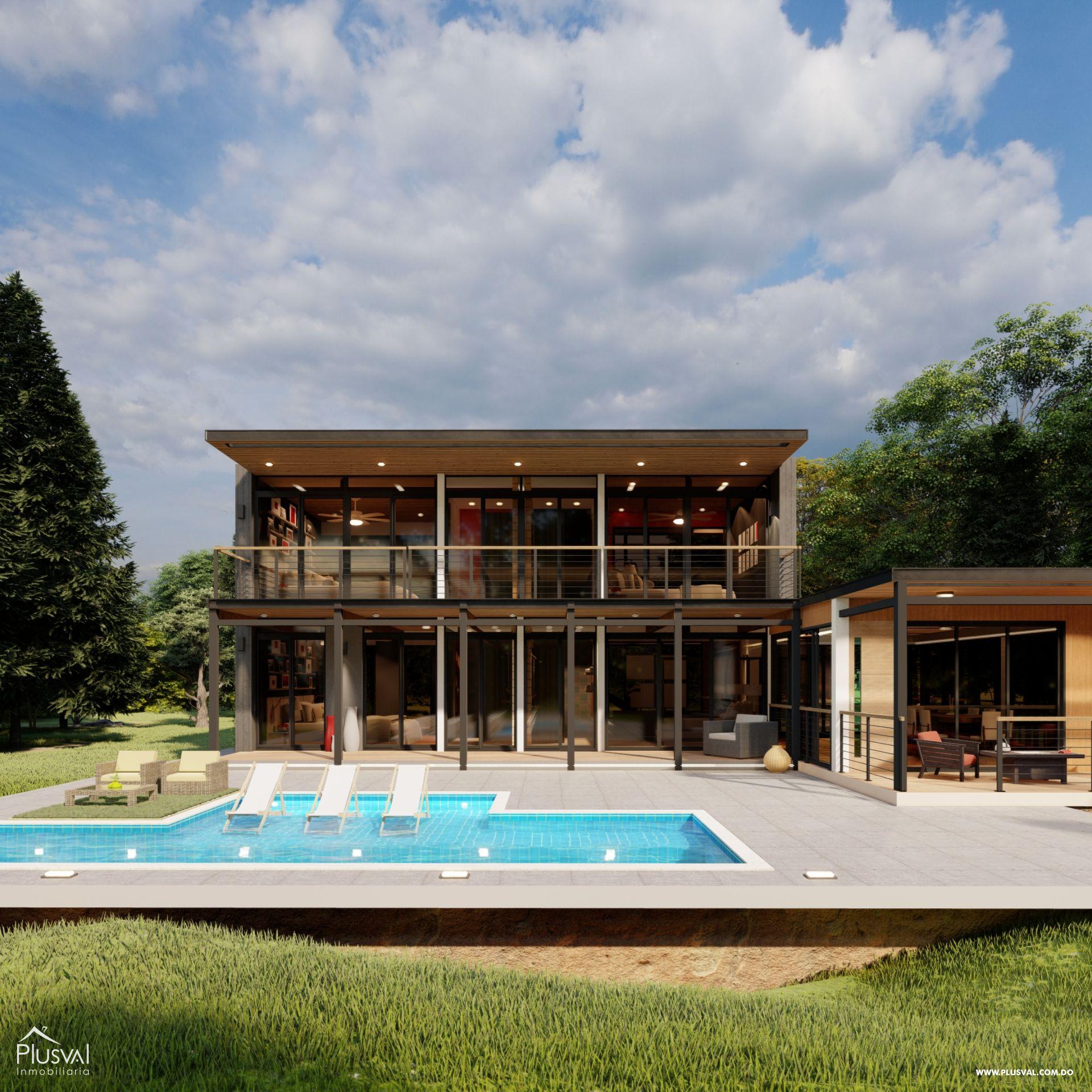 Villas en Jarabacoa con excelente diseño e inmejorable ubicación 159140