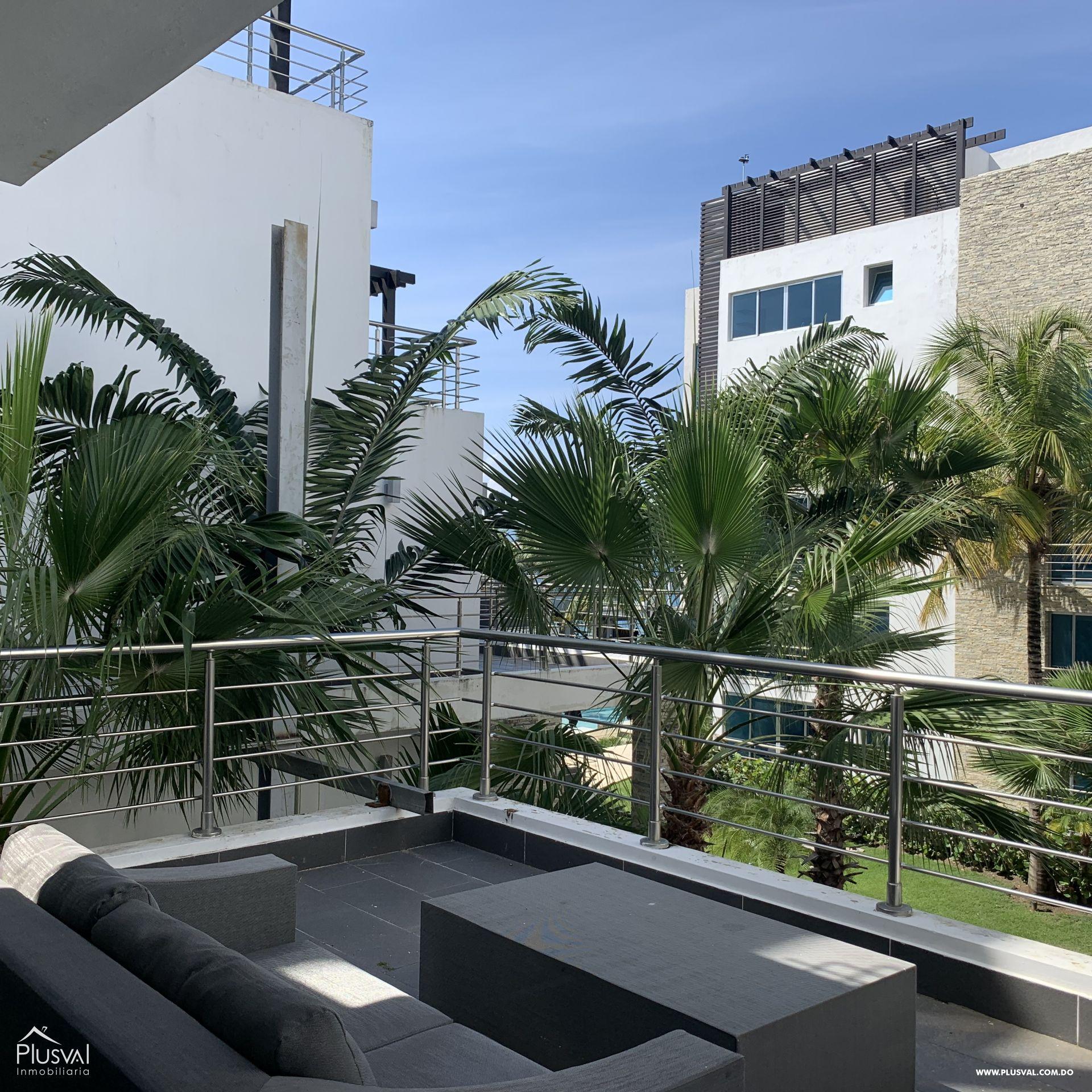 Apartamento en Sosua en lujoso complejo frente al Mar 163811