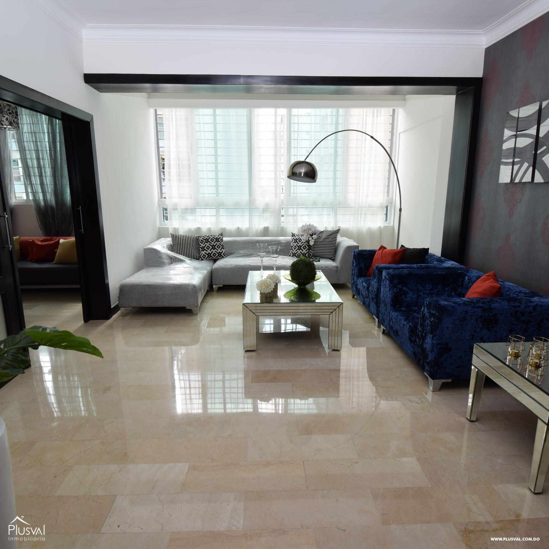 Apartamento en alquiler amueblado en Naco 154919