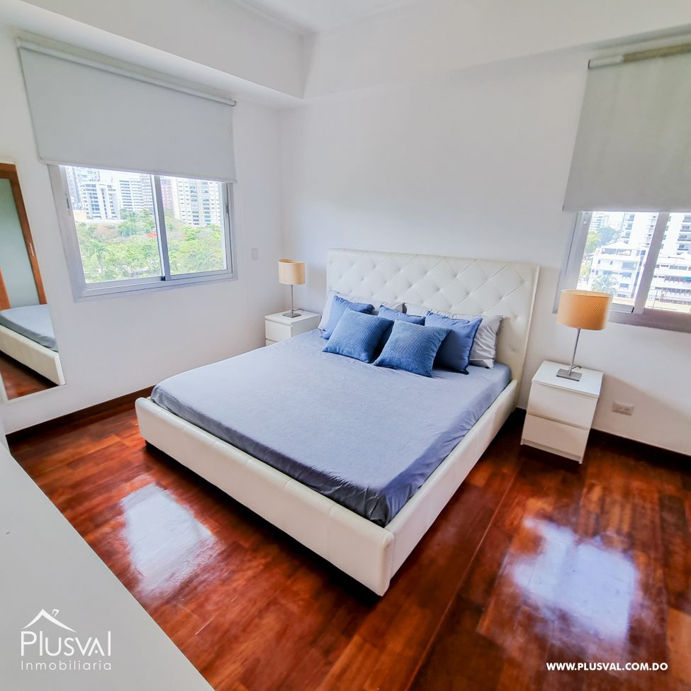 Apartamento en Venta amueblado con vista al parque en La Esperilla 178755