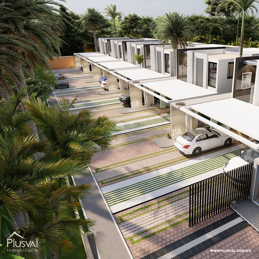 Exclusivas y modernas casas de 2 niveles en Arroyo Hondo III. 167151