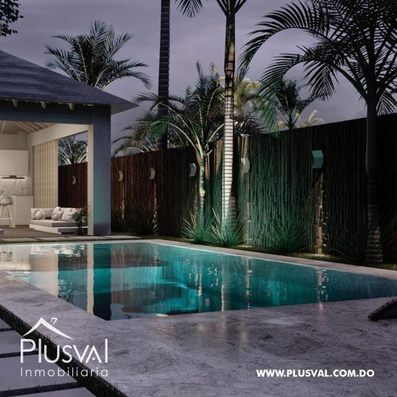 Apartamento moderno con piscina tipo Pent-house próximo a la autopista Duarte
