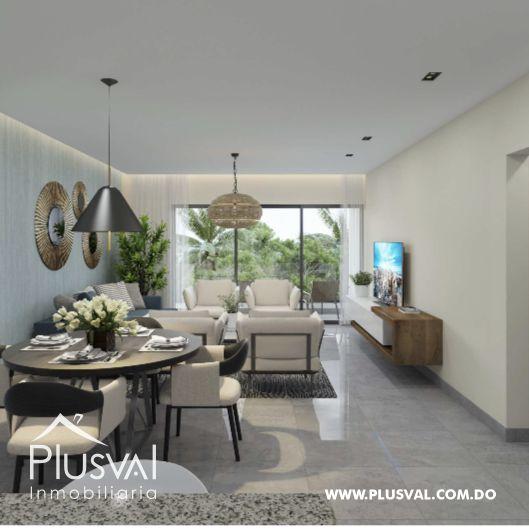Apartamento de 2 habs en venta con Piscina, en Punta Cana 173015