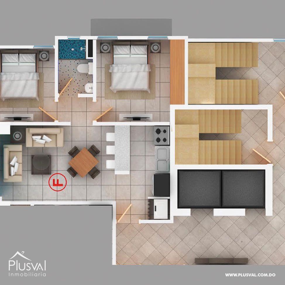 Proyecto de 1 y 2 habitaciones en venta en céntrico sector de Naco 153177