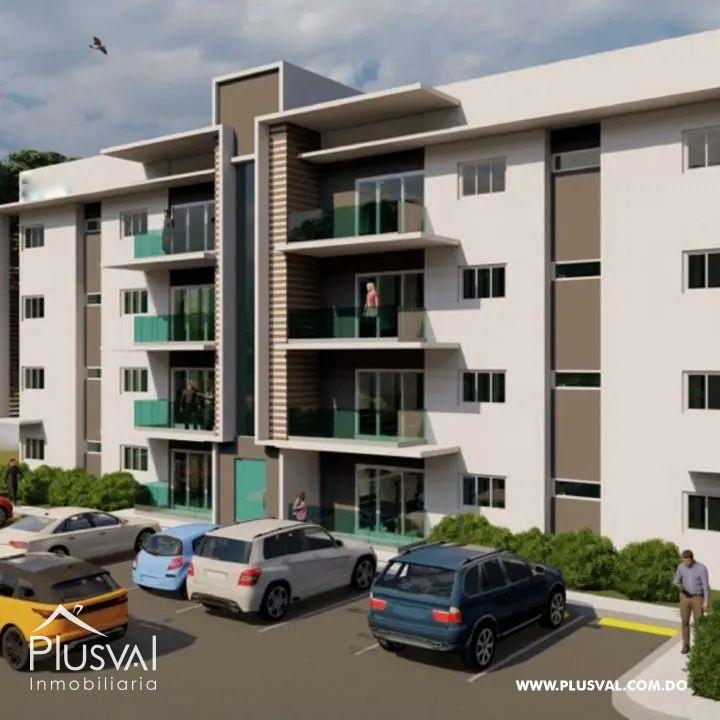 Proyecto íntimo de solo 8 apartamentos ubicado en tranquilo sector de Santiago