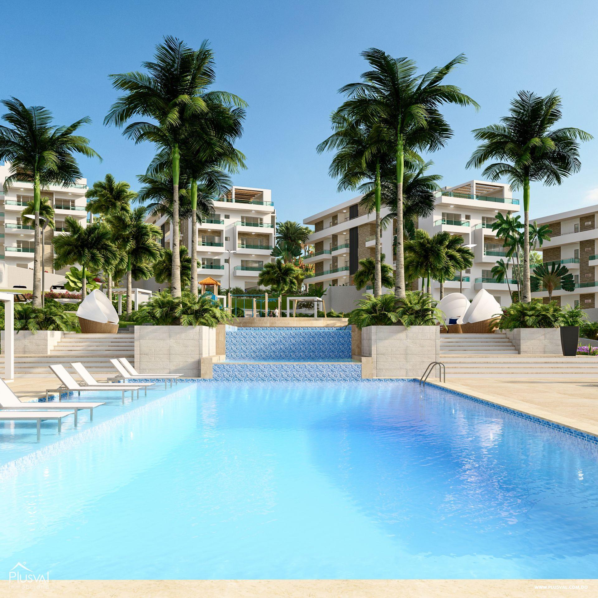 Proyecto de apartamentos ubicados a tan solo tres minutos de la playa. 189812