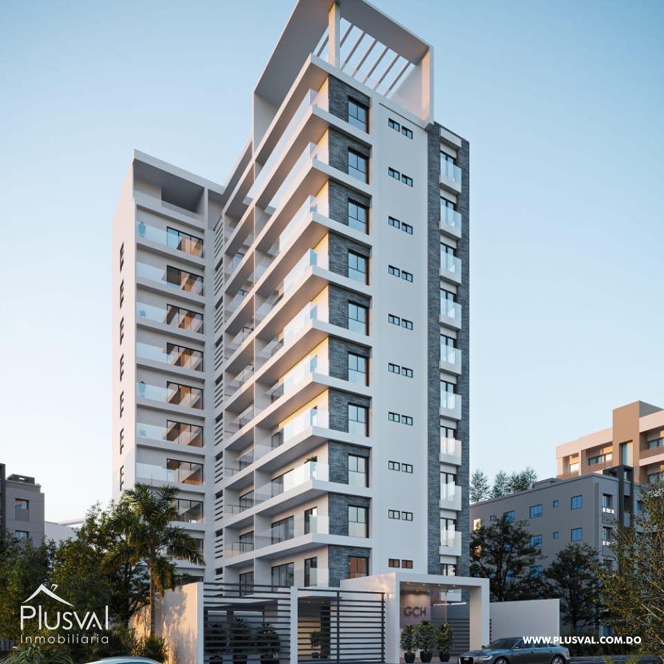 Apartamentos en construcción para la venta en Naco
