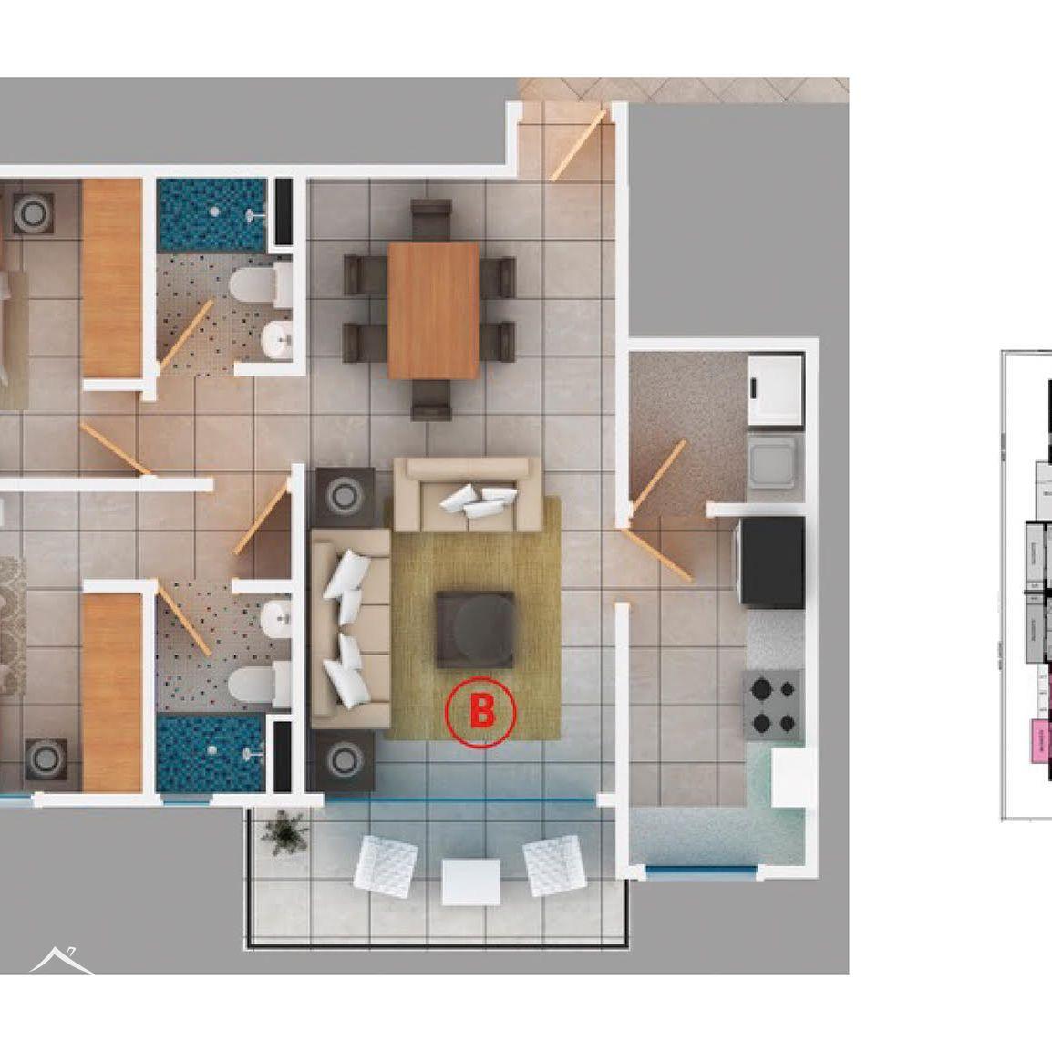 Proyecto de 1 y 2 habitaciones en venta en céntrico sector de Naco 153198