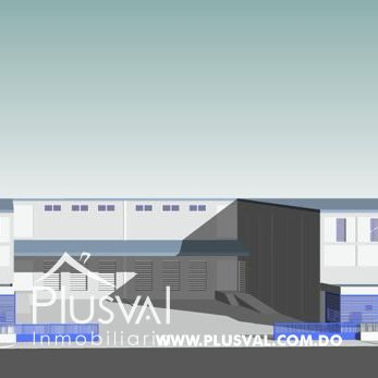 Gran Nave Industrial en Venta. Próximo Autopista Duarte