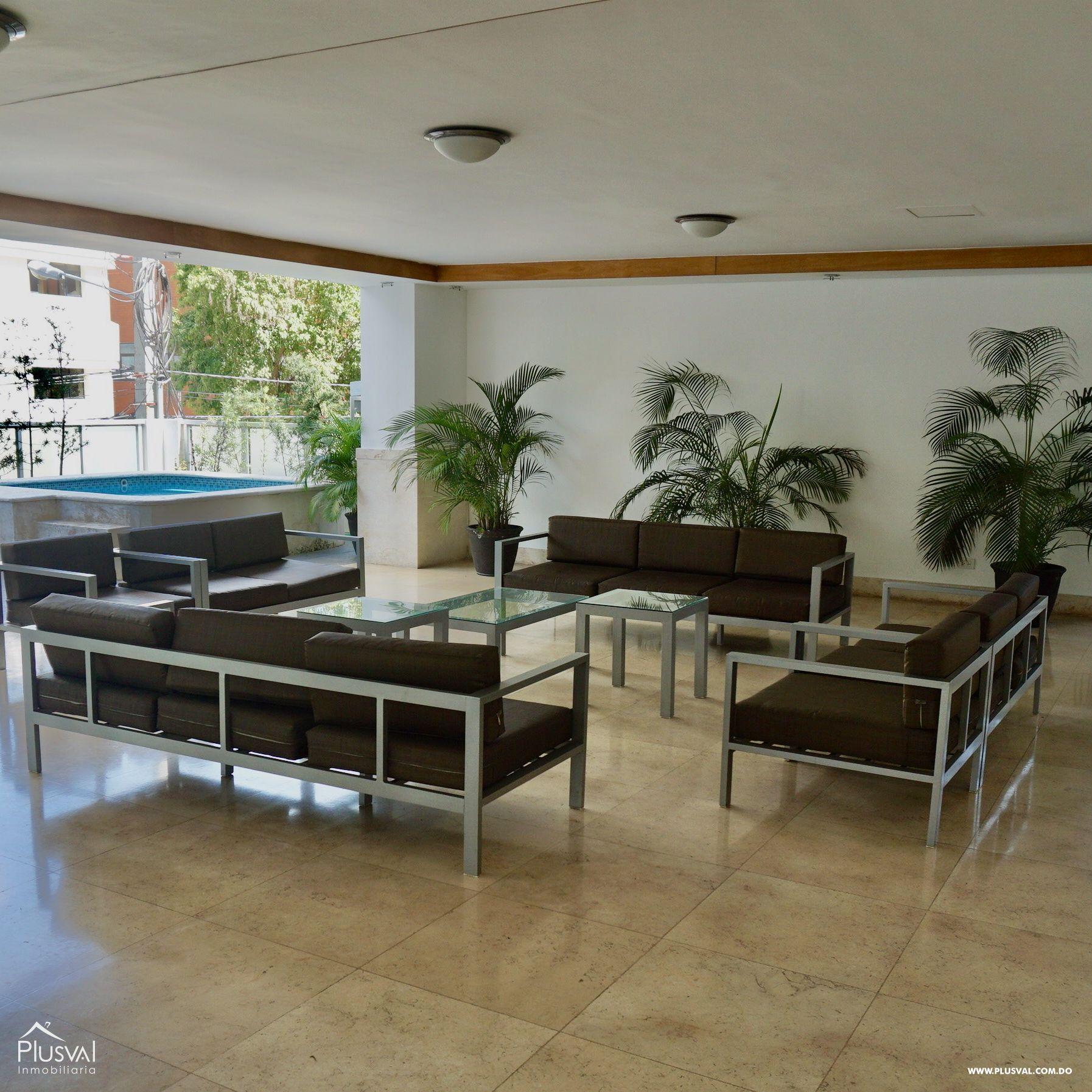 Apartamento en Alquiler Amueblado en zona Premium de Piantini 155528