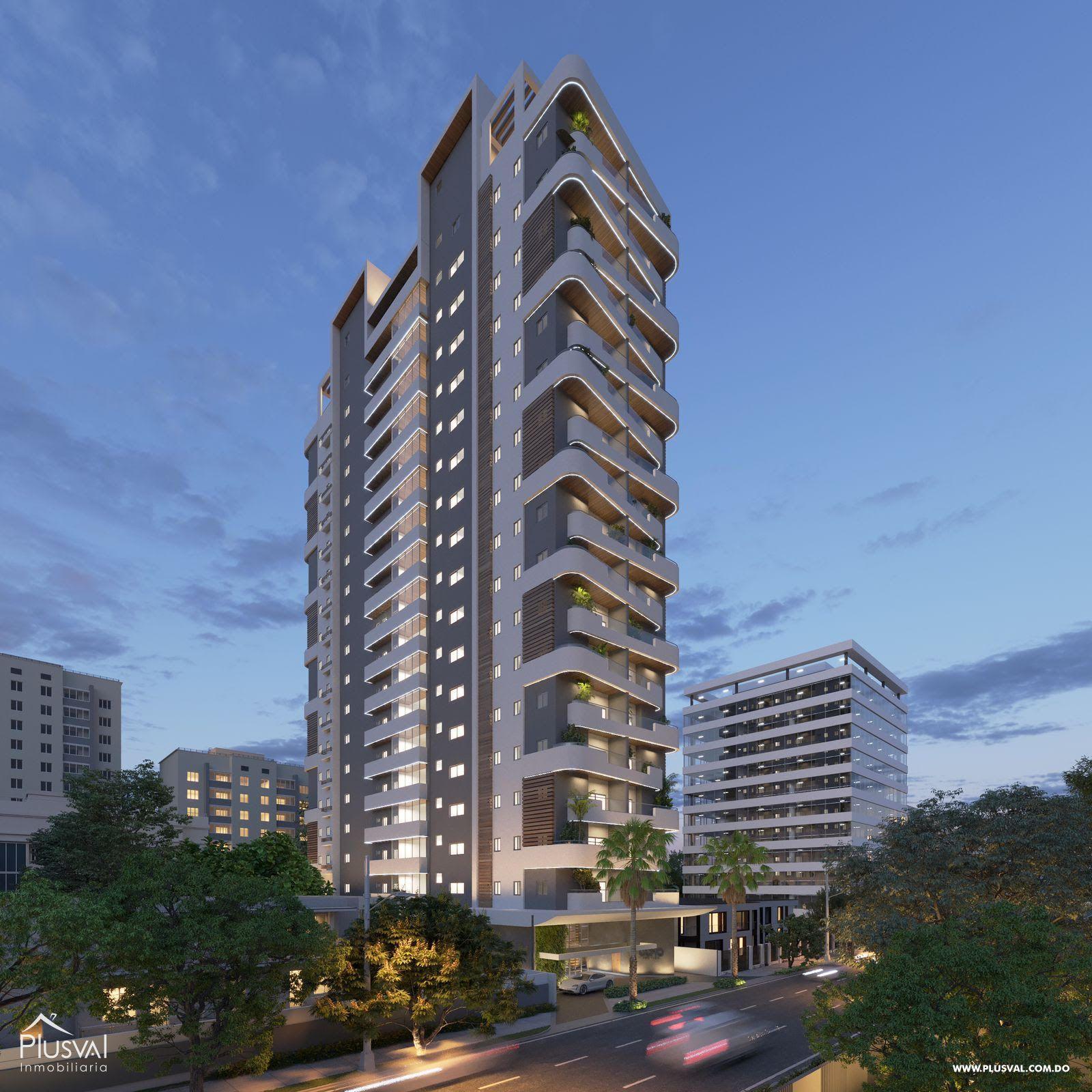 Moderno proyecto de apartamentos de 1 y 2 hab. en Naco 183193