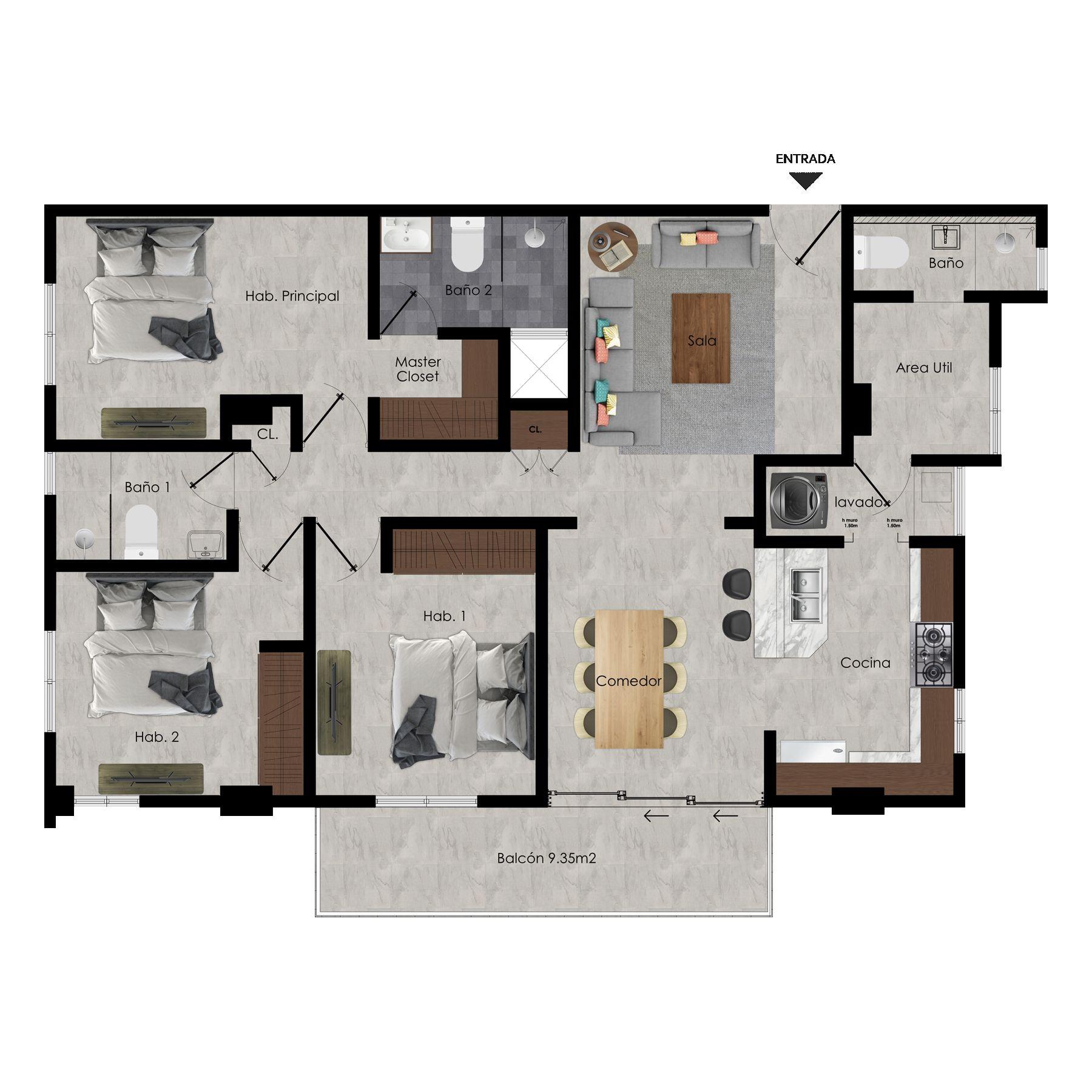 Apartamentos en venta próximo a MEGA CENTRO, Carretera Mella Sto. Dgo. Este 154912