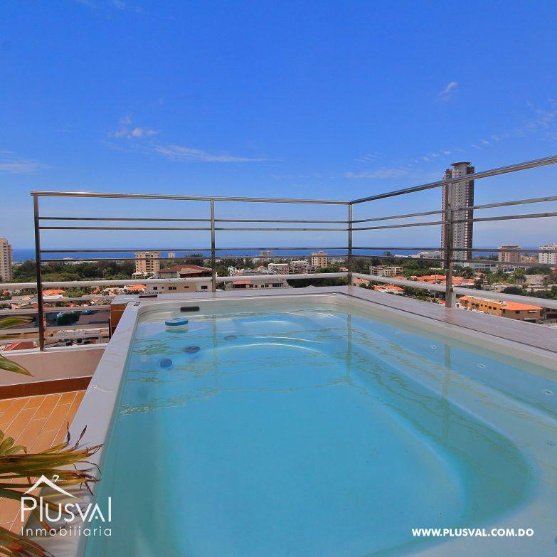 Apartamento Vista al Mar, 2 Habitaciones Torre Moderna, Área Social, Bella Vista