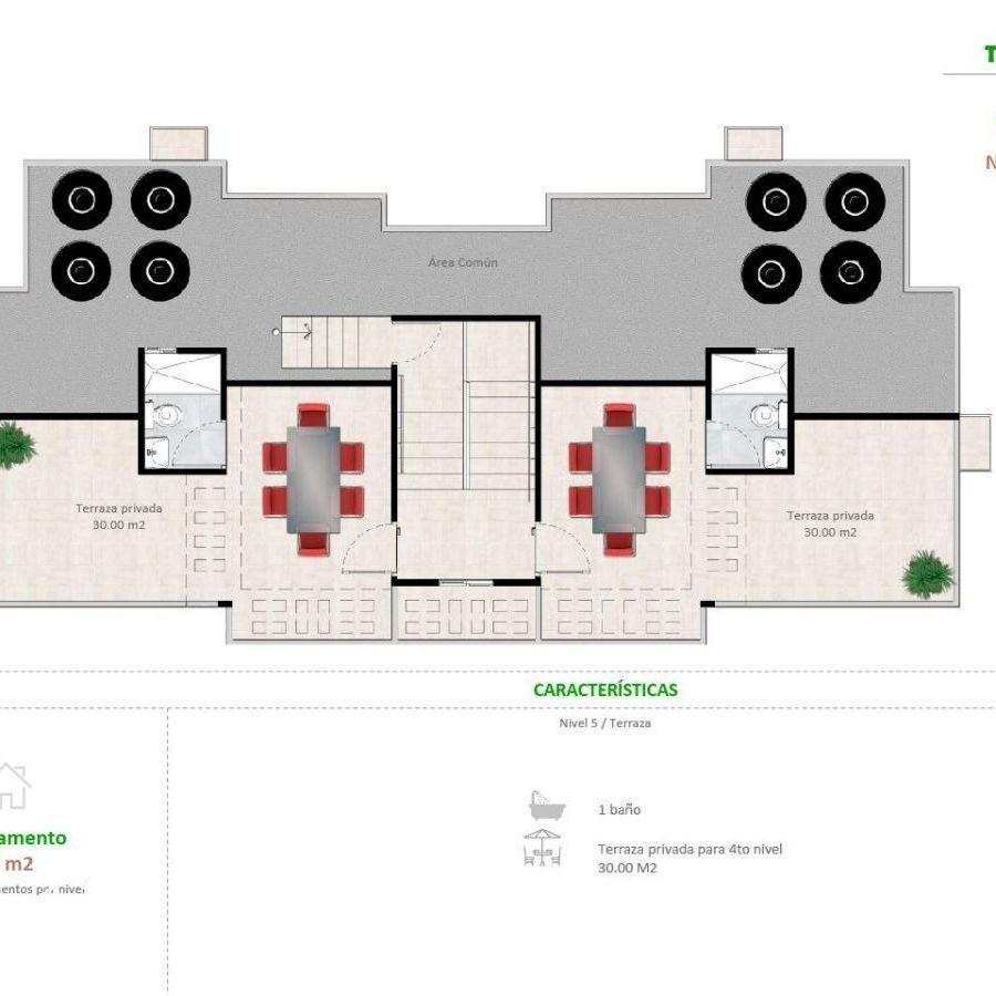 Apartamentos en la Jacobo Majluta con excelente área social 173634