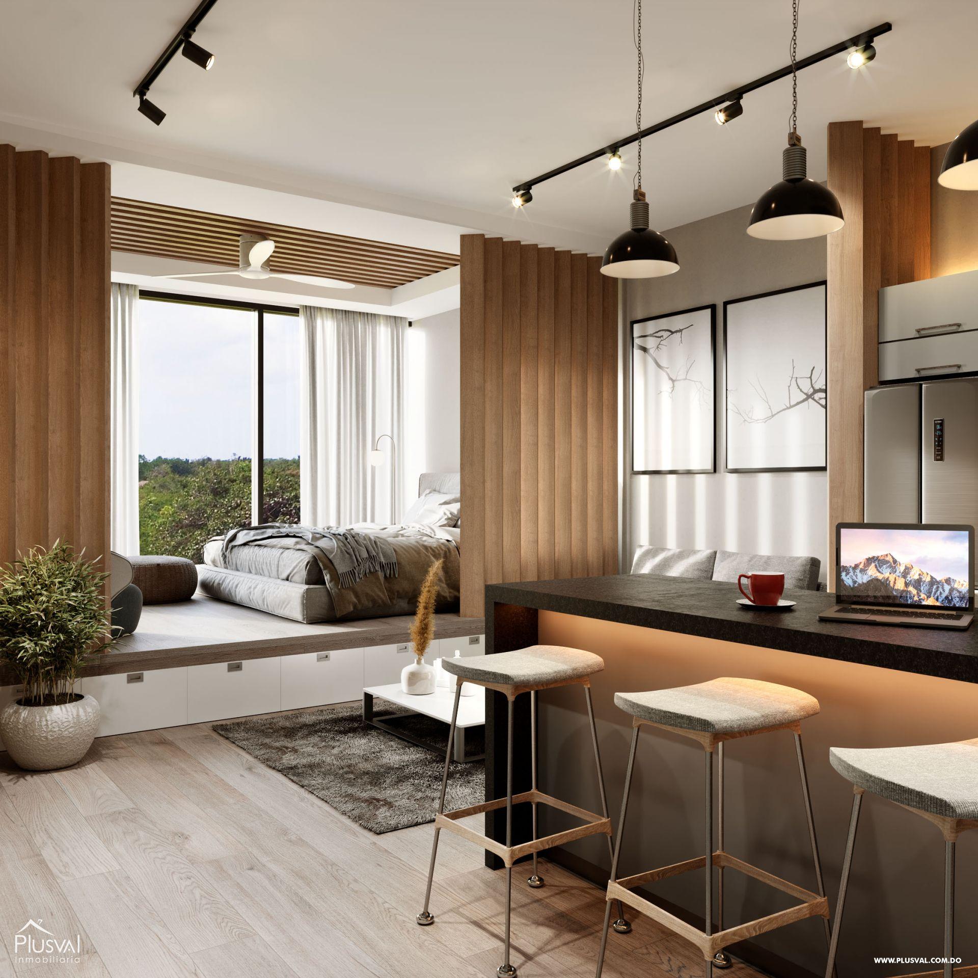 Proyecto de Apartamentos de 1 Habitación 173899