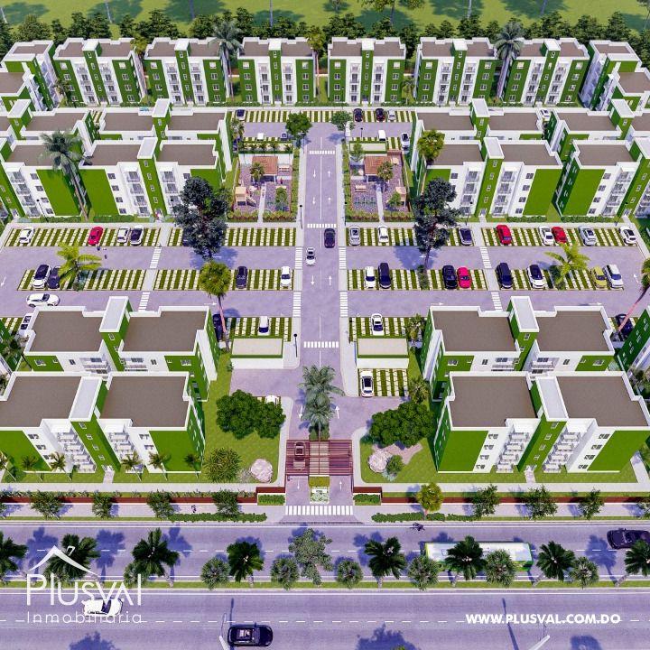 Apartamentos en Segundo Nivel Ciudad Juan Bosch