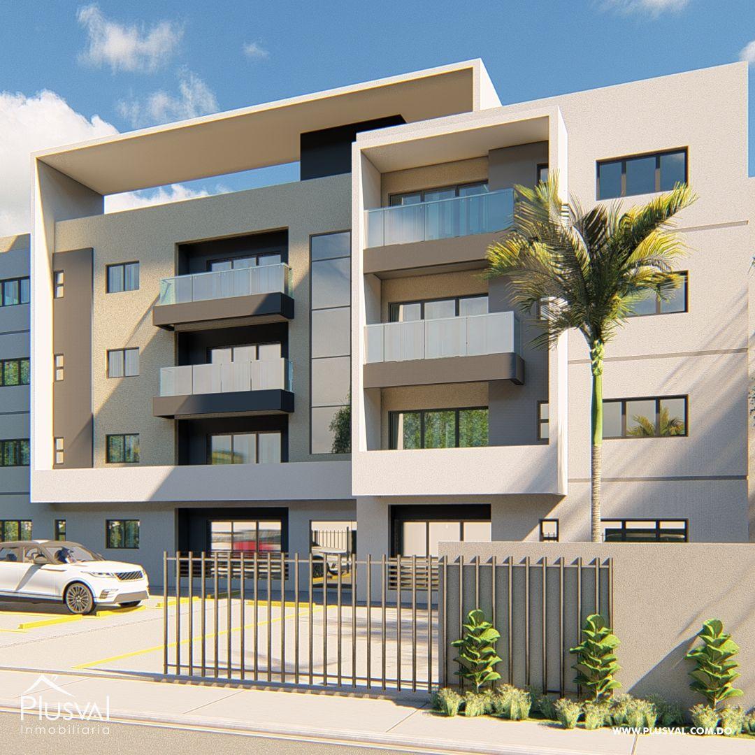 Moderno Edificio de Apartamento 161511