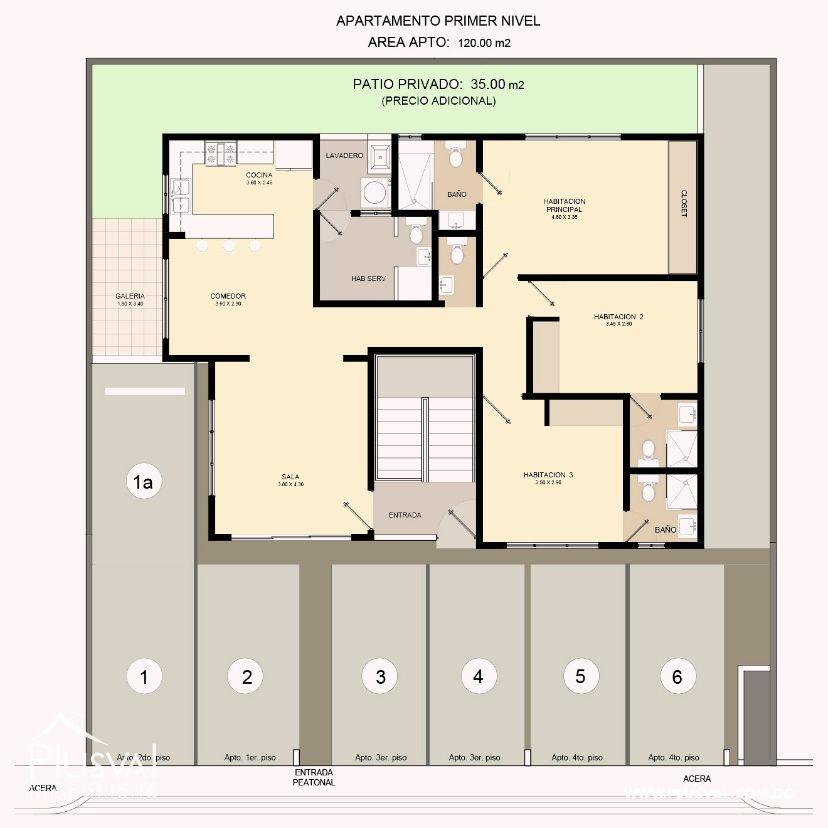 Proyecto de apartamentos en Brisa Oriental 170560