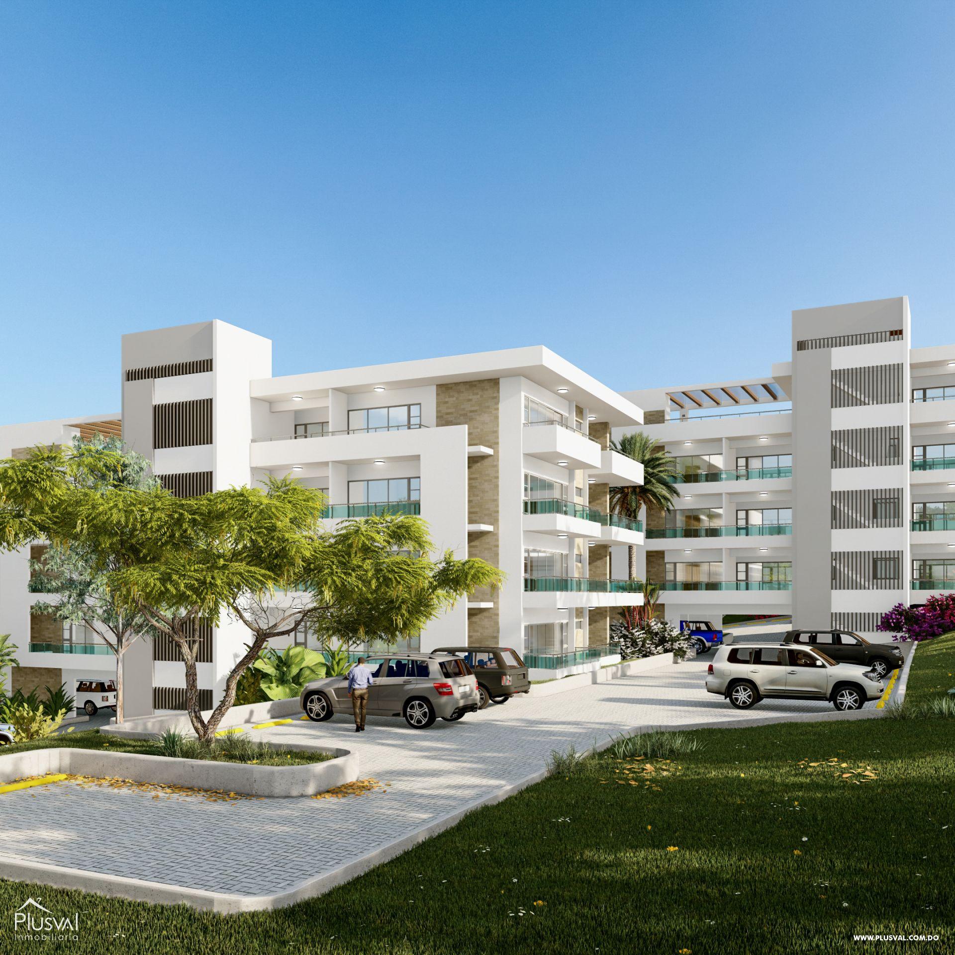 Proyecto de apartamentos ubicados a tan solo tres minutos de la playa. 189808