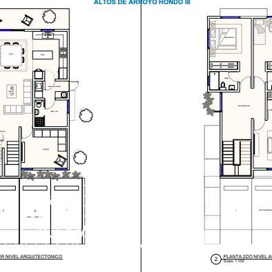 Proyecto de Casas en Venta Arroyo Hondo III 164200