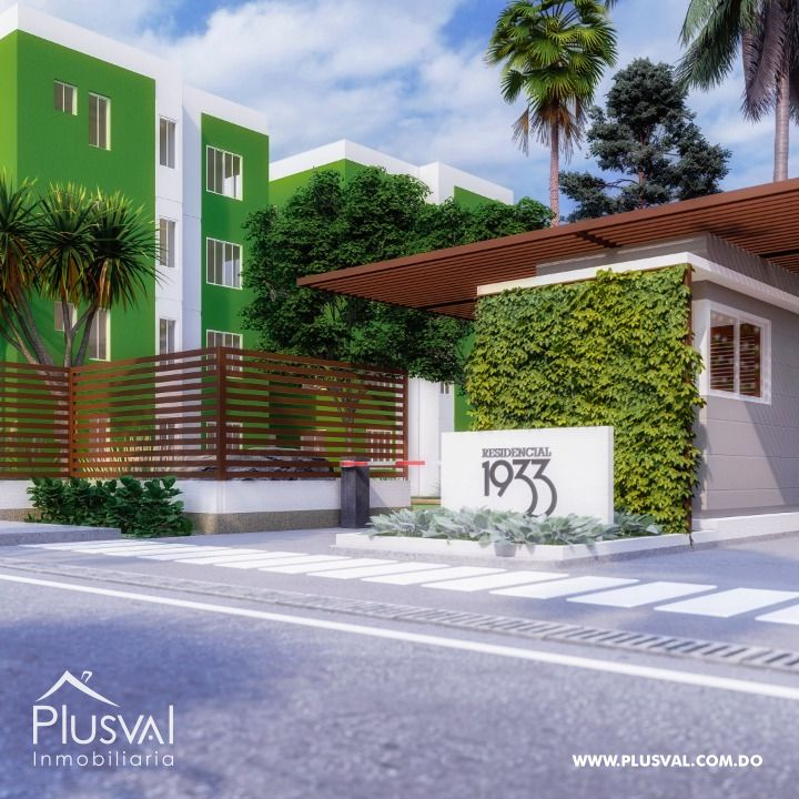 Apartamentos en Tercer Nivel Ciudad Juan Bosch