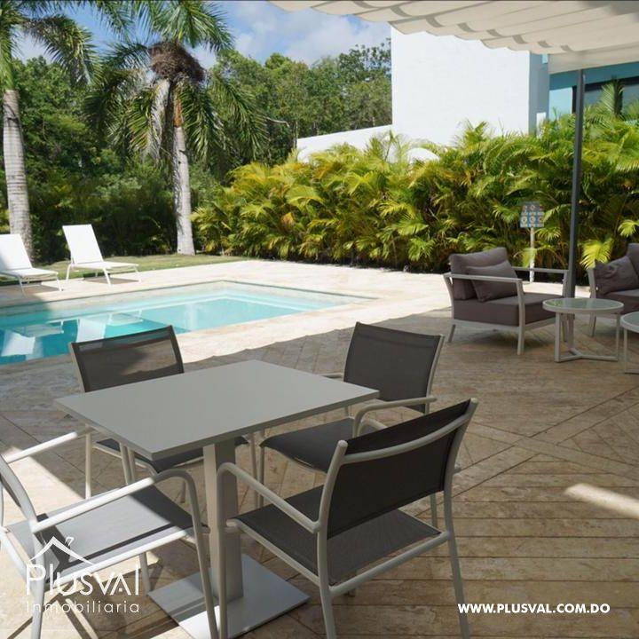 Apartamento de 2 habs amueblado en Venta, en Puntacana Village con piscina 167259