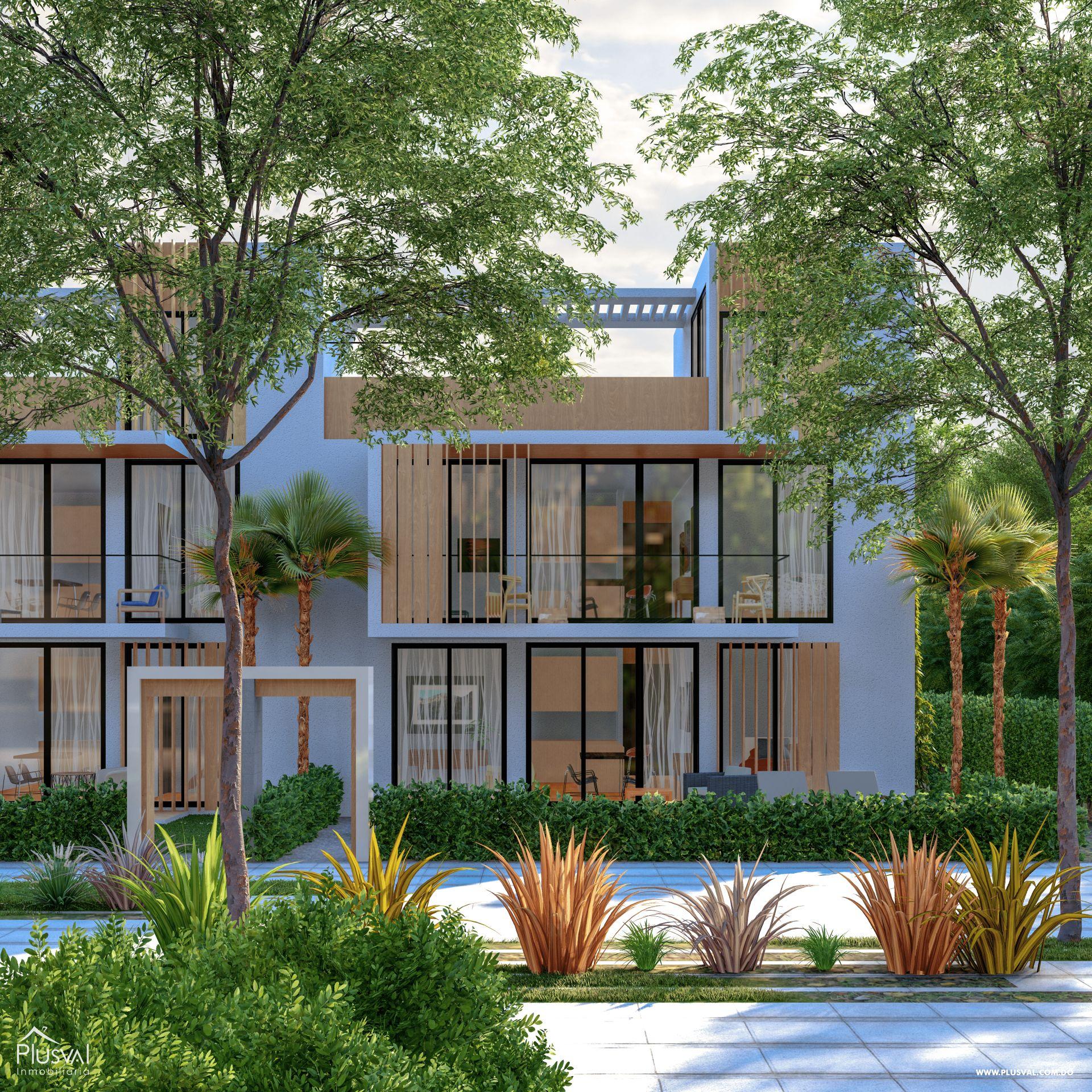 Apartamentos de 1 y 2 Habitaciones en Venta, en la zona de Punta Cana 181171