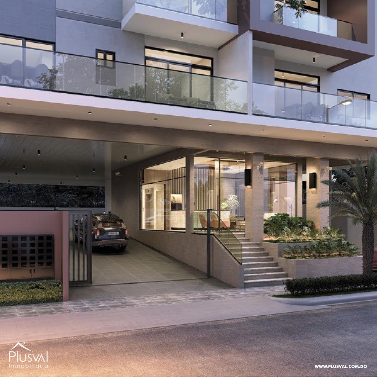Proyecto de 1 y 2 habitaciones en venta en céntrico sector de Naco 153176