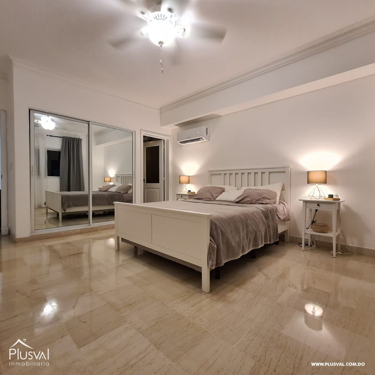 Apartamento amueblado en alquiler, Naco 188904